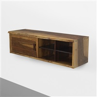 wall-mounted cabinet by george nakashima
