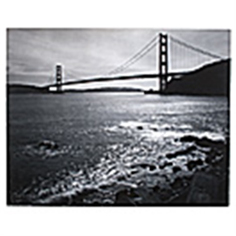 golden gate bridge by ansel adams