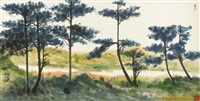 casuarina trees by shiy de-jinn