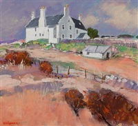balnakeil house, durness by charles anderson