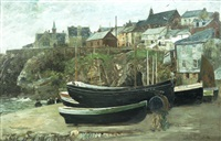 port isaac, cornwall by john robertson reid