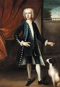 portrait of a boy by john theodore heins sr.