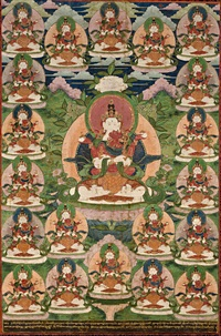 a thangka of maitreya and consort by anonymous-tibeto-chinese (19)