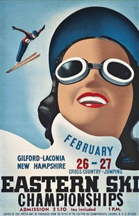 eastern ski championships, new hampshire by joe leibow