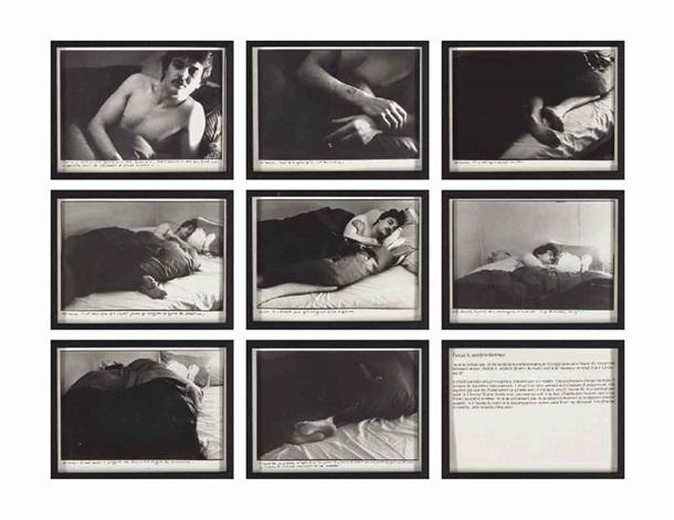 les dormeurs patrick x in 9 parts by sophie calle