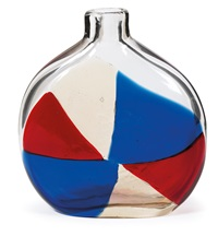 pezzame bottle vase by fulvio bianconi