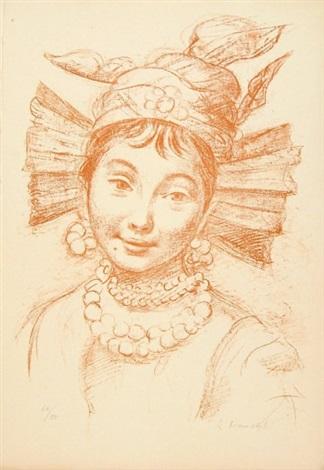 visages 12 works by romain kramstyk