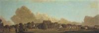 panorama of arundel by eric hesketh hubbard