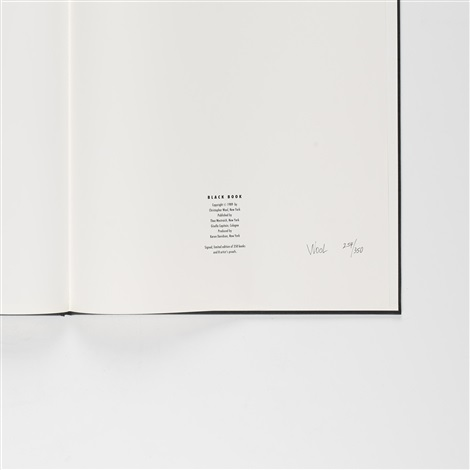 black book by christopher wool
