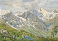 im hochgebirge by jakob fischer-rhein