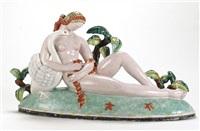 leda mit schwan (designed by karl födinger) by gmundner keramik