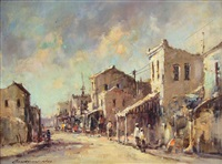 street scene, district six by christiaan nice