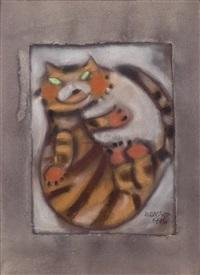 tiger by liu ch'i-wei
