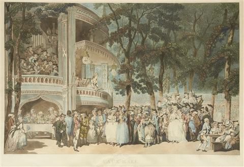 vauxhall by thomas rowlandson