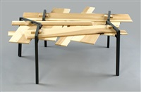 raymond table - 5 legs composition (from the hand crafted series) by david amar