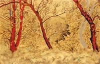 paysage de sous bois by alix aymé