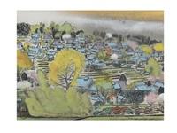 landscape of ohara by hitoshi komatsu