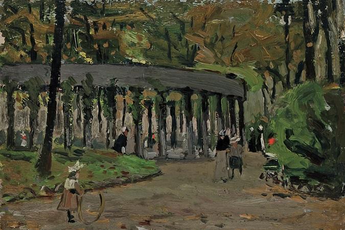 in the park paris by robert henri