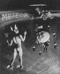 hermes introduced to the the meteor motorcar by arthur t. merrick