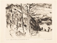 walchensee by lovis corinth