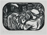 my role has been important in the struggle to organize the unorganized by elizabeth catlett