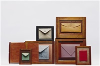 untitled (envelopes) (in 7 parts) by andrew bush