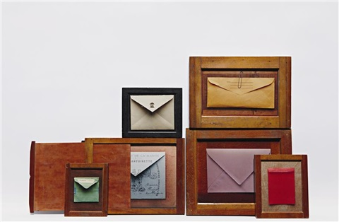 untitled envelopes in 7 parts by andrew bush