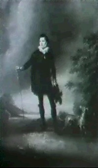 portrait of master betty probably as hamlet by richard livesay