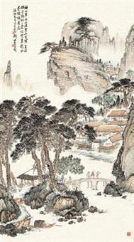 山居图 by qian songyan