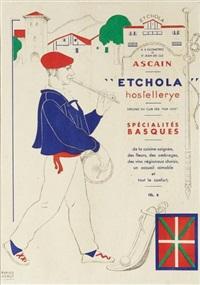 etchola, hostellerye à ascain by ramiro arrue