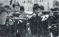 north korea, pyongyang, guns games by jr