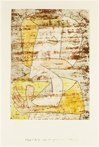 bei vergehender zeit (as time passes by) by paul klee