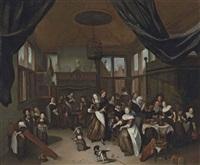 the feast of saint nicholas by richard brakenburg