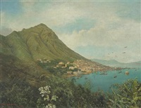 a view of hong kong from across the harbor by james b. coughtrie
