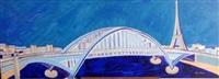 la passerelle debilly (from les ponts de paris) by anne aknin