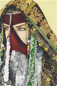 natacha atlas, saqqarah by youssef nabil