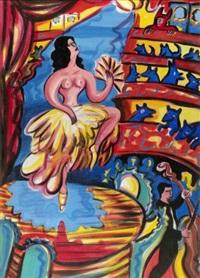 la danseuse by carmélo zagari