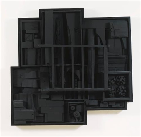 sky jag iv by louise nevelson