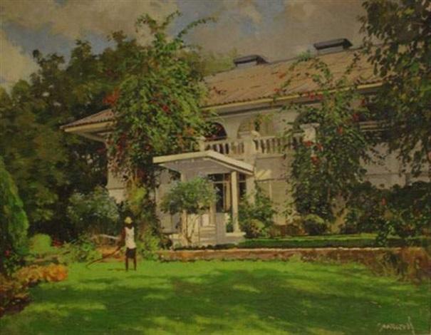 Maison Et Jardin Tropical By Joao Marques De Oliveira On Artnet