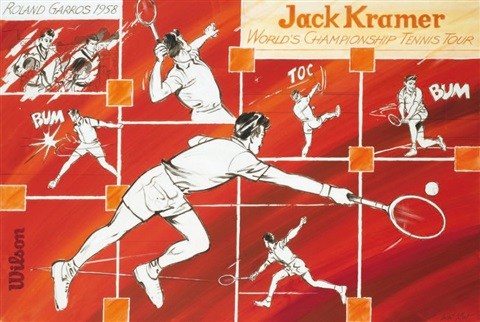 jack kramer et le worlds championship tennis tour by laurent le pont