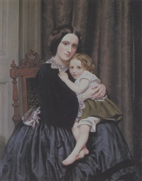 mother and child by robert s. tait