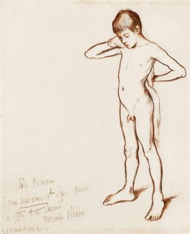 jeune garcon nu by suzanne valadon