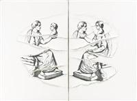 senza titolo (in 2 parts) by giulio paolini