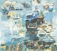 fête nautique by raoul dufy