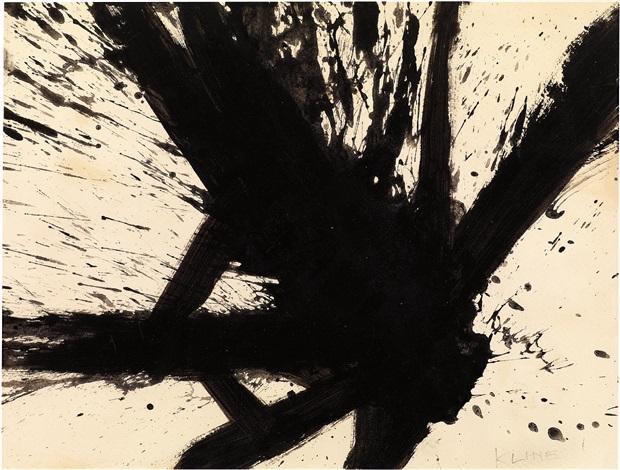 untitled composition by franz kline