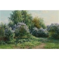 landscape in spring by viktor pavlovitch baturin