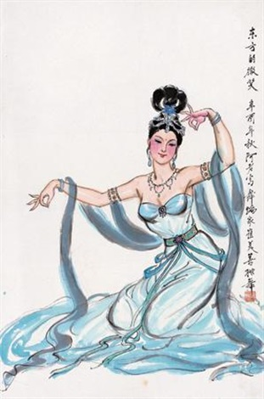 东方的微笑 (dancing) by a lao