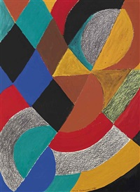 rythme couleur no. 1600 by sonia delaunay-terk