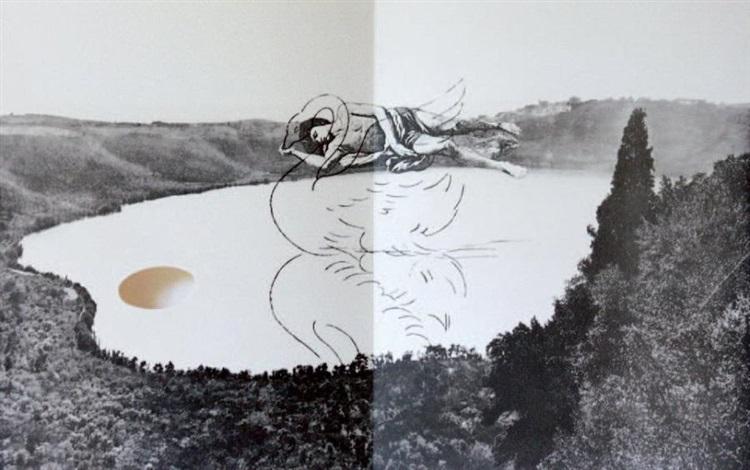lexil du cygne by giulio paolini