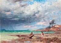 balatoni halászok by jános valentiny